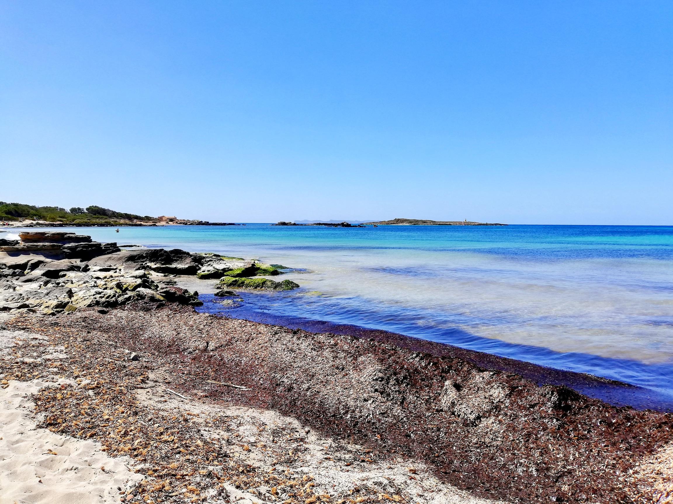 Fabulosos colores en este rincón de la isla